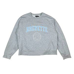BRUNETTE THE LABEL Crewneck Sweatshirt